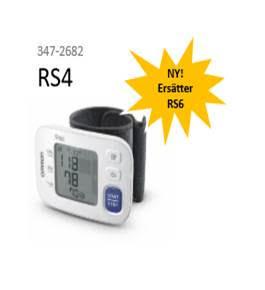 RS4 blodtrycksmätare för handled 347-2682