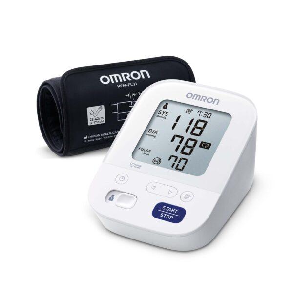 M3 Comfort-2020 blodtrycksmätare för överarm