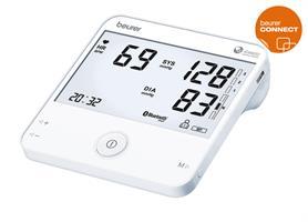 Helautomatisk blodtrycksmätare för överarm och EKG Bluetooth