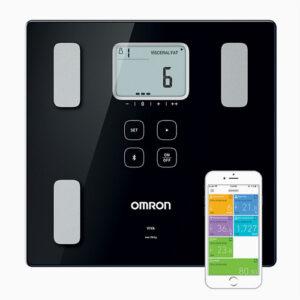 Analysvåg med Omron Connect app